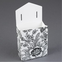 Flap Patterned Favor Boxes Step 3