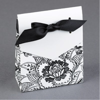 Flap Patterned Favor Boxes Step 5