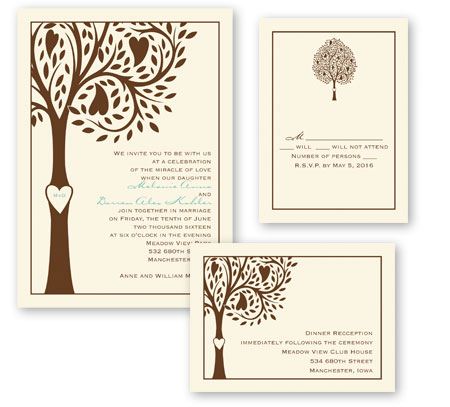 How to assemble 3 for 1 invitations invitations by dawn 3 for 1 assembly step 4 junglespirit Image collections