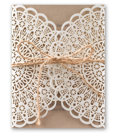 Laser Cut Invitation 2