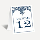 Printable Wedding Table Numbers | Invitations by Dawn