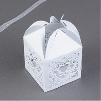 Lacy Heart Favor Boxes Step 4
