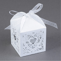 Lacy Heart Favor Boxes Step 6
