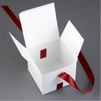 Ribbon Cake Favor Boxes Step 5