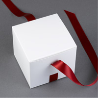 Ribbon Cake Favor Boxes Step 6