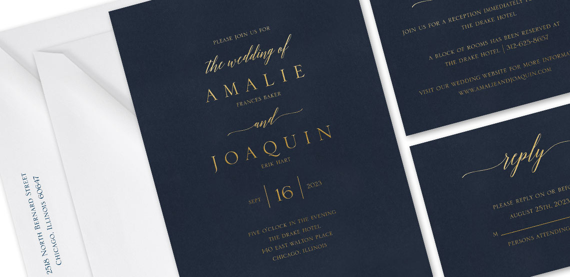 word wedding invitation