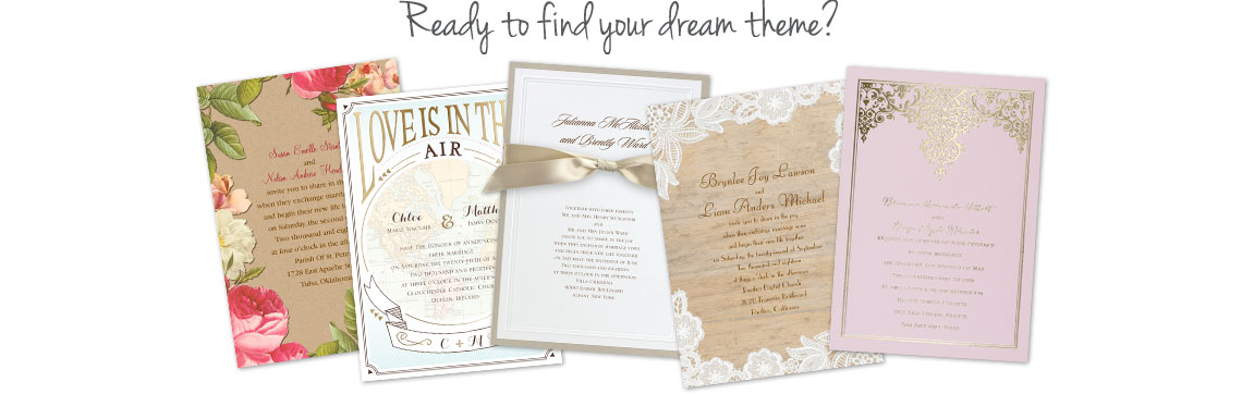 shop wedding invitations - Wedding Invitation Wording Etiquette
