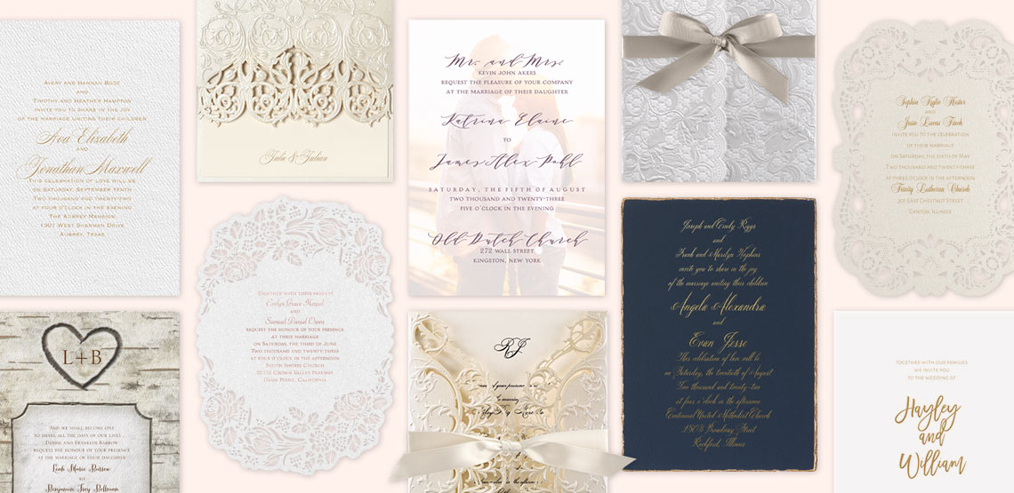 10 Reasons to Order Wedding Invitations Online Invitations by Dawn