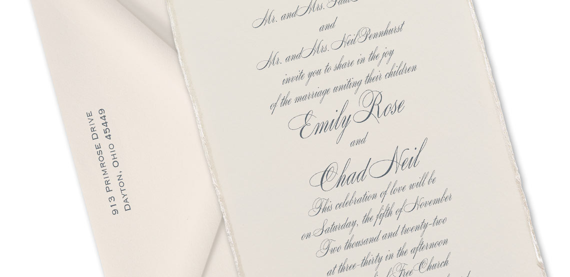 10 Tips for Wording Formal Wedding Invitations | Invitations by Dawn