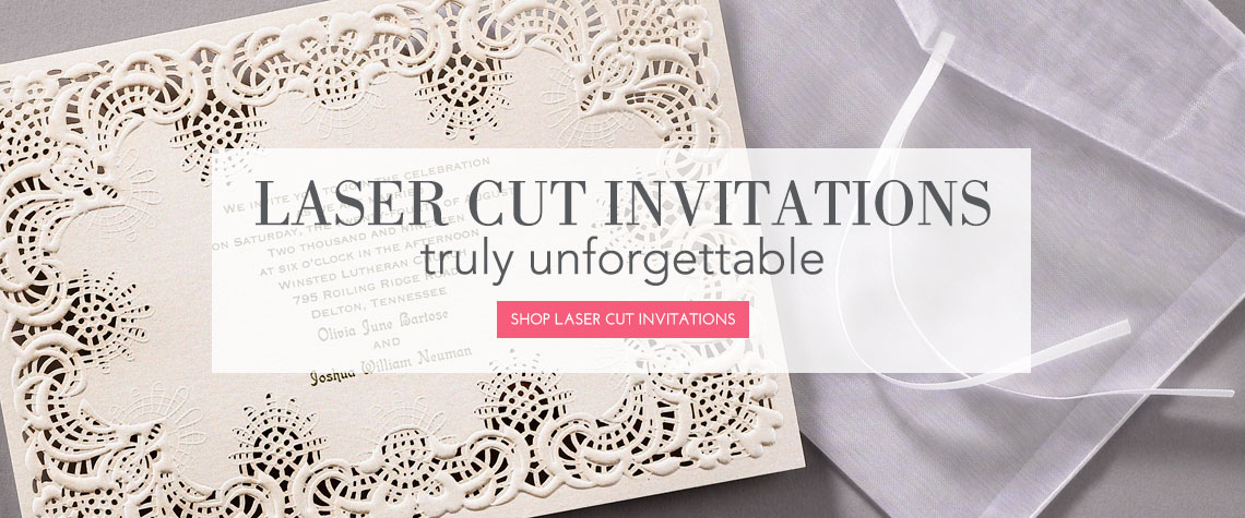 Laser Cut Invitation 1