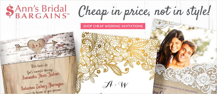 Ann's Bridal Bargains Collection