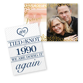 Shop Vow Renewal Invitations