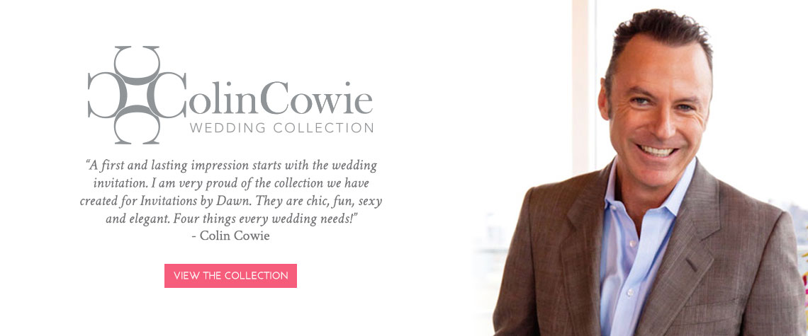 Colin Cowie Invitation Collection