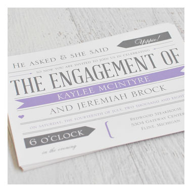Fabulous Deals on Engagement Party Invitations