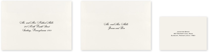 Wedding Envelope Addressing | Invitations By Dawn