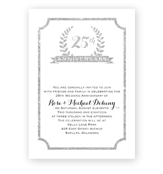Shop Anniversary Invitations