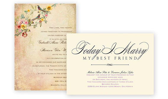 Wedding Invitations - Shop Now
