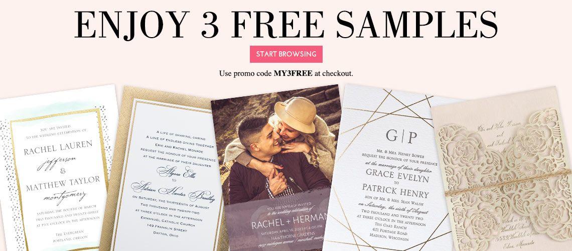 Free Wedding Invitation Samples Invitations By Dawn