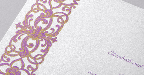 Wedding invitation paper invitations by dawn 105 lb signature shimmer paper stopboris Image collections