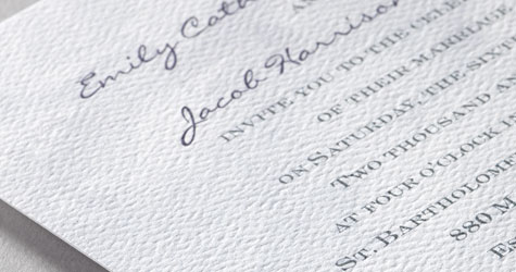 110 lb signature textured paper - Paper For Wedding Invitations