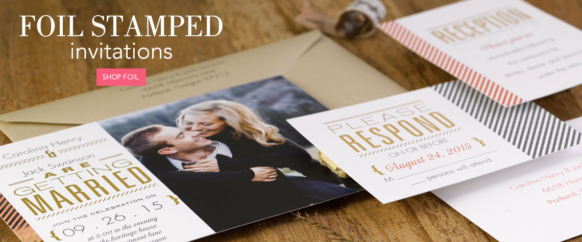 Wedding Invitation Types