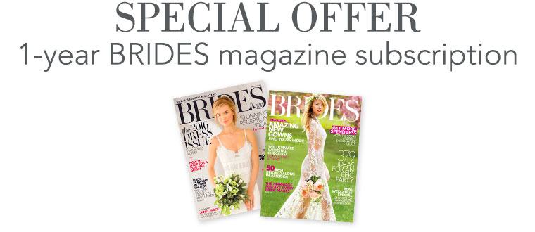 Brides Magazine Special Offer
