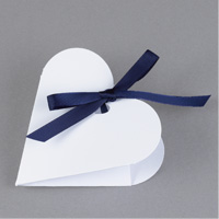 Heart-Shaped Favor Boxes