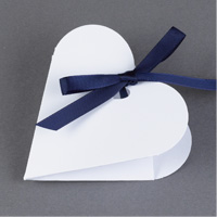 Heart-Shaped Favor Boxes Step 5