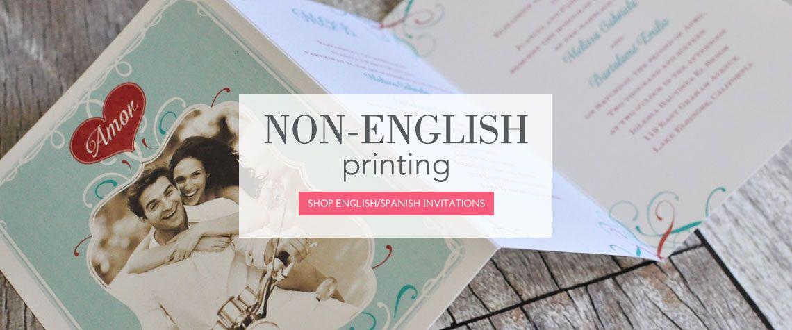 Non-English Printing