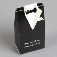 Tux Favor Boxes Step 5