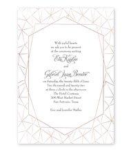 Clean Lines - Foil Invitation