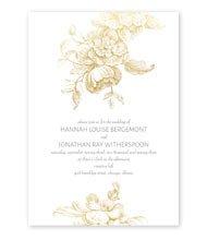Gilded Garden - Foil Invitation