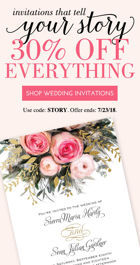 Custom Wedding Invitations by Dawn Current Offer