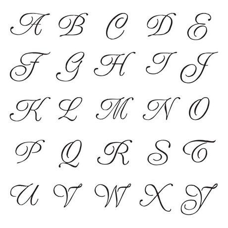 Silver Alphabet Seal
