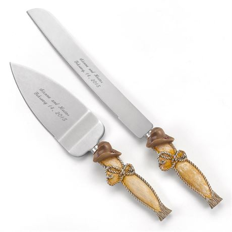 Country Flair Knife and Server Set