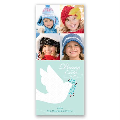 Peace on Earth Photo Holiday Card