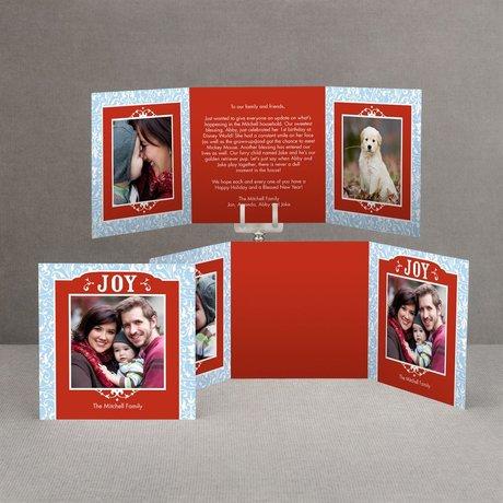 Bright Joy Photo Holiday Card