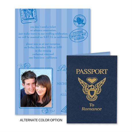 Passport to Romance  - Invitation