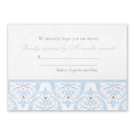 Disney Happily Ever After Response Card Cinderella