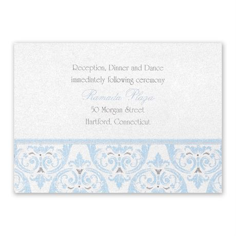 Disney Happily Ever After Reception Card Cinderella
