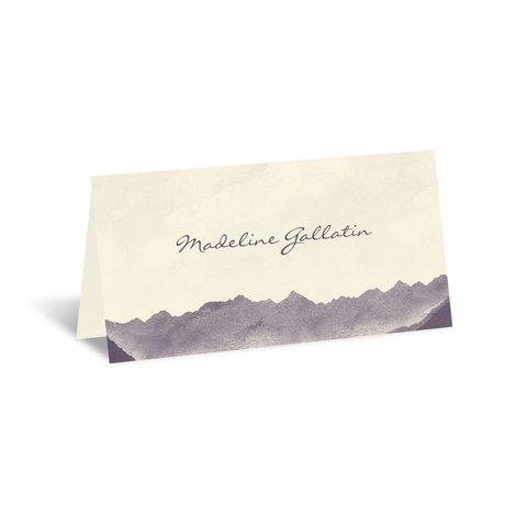 Mountain Mist - Ecru - Place Card