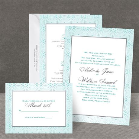 Designer Dots All in One Invitation