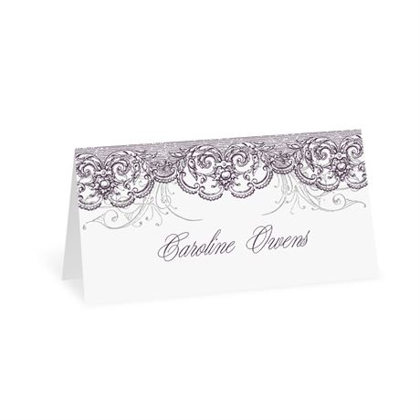 Lacy Flourishes - Place Card