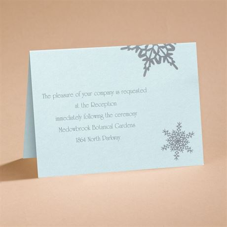 Winter Wonders Reception Card