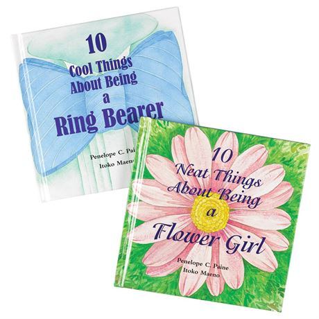 Flower Girl Gift Book