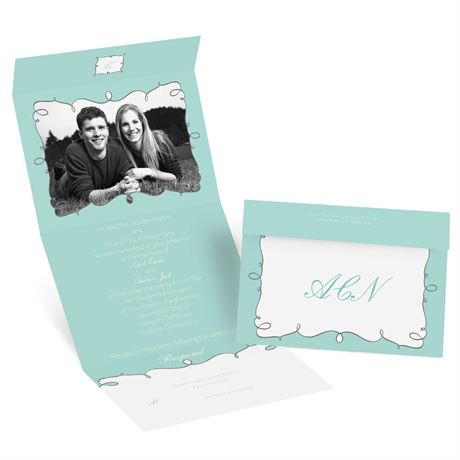 Whimsy Frames - Seal and Send Invitation