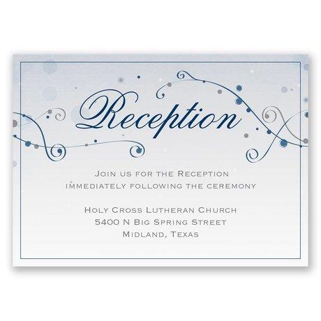 Stargazing Reception Card