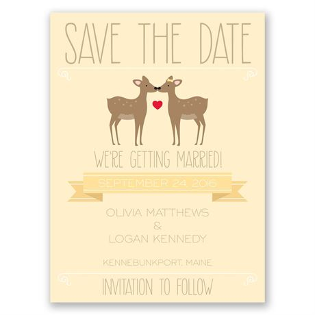 Dear to Me Save the Date Card