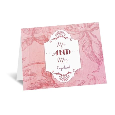 Antique Charm - Cotton Candy - Note Card and Envelope