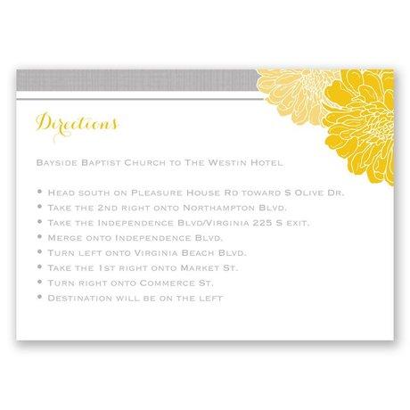 Peeking Flowers - Map Card